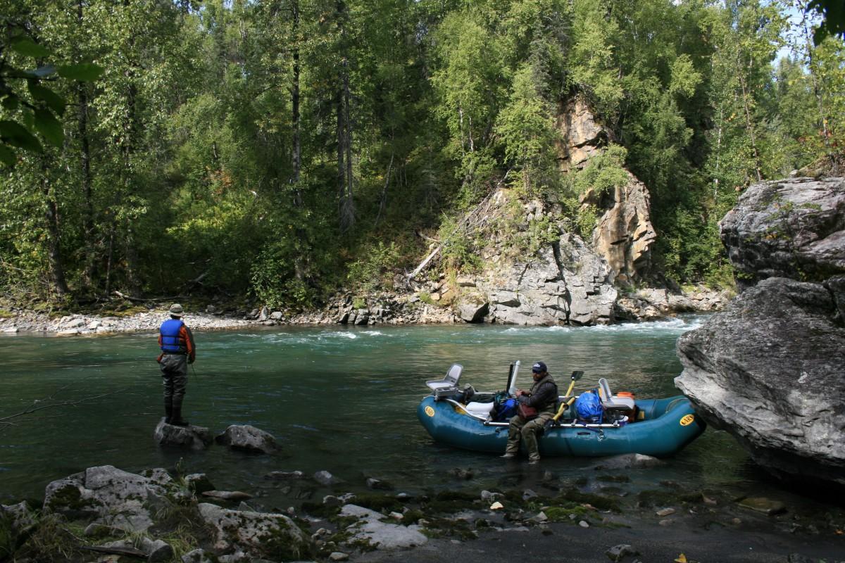 Talkeetna alaska fishing rafting and lodging dfa for Clear creek fishing